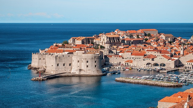 Picture of Dubrovnik.