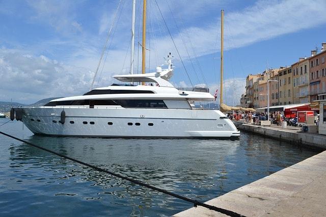 A Boat in St. Tropez
