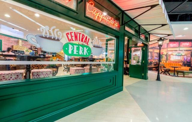 Central Perk Cafe in Manchester Primark