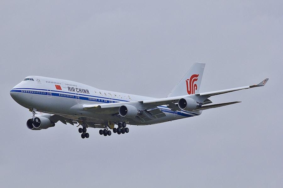Airplane chinese flight