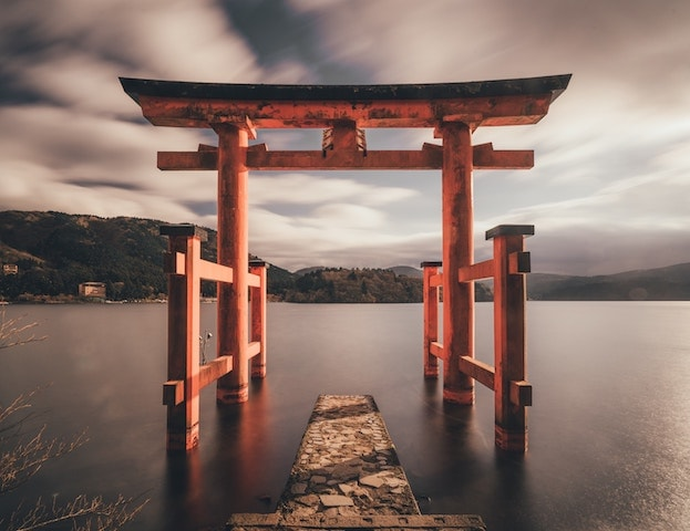Picture of water in Japan