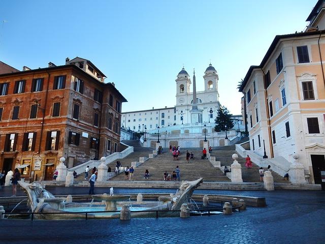 Spanish Steps In Italy