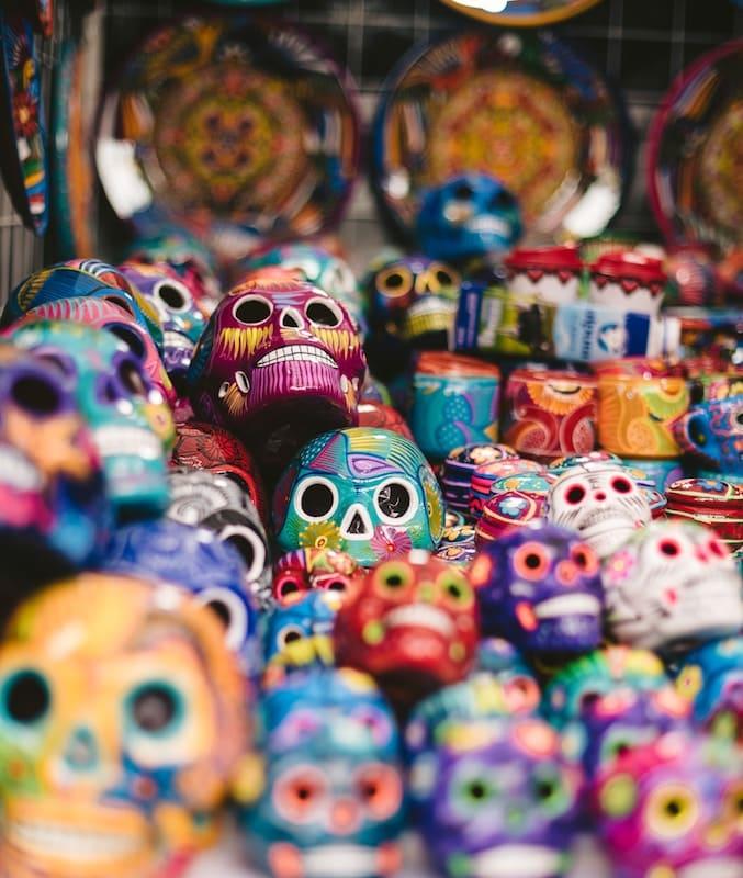máscaras mexicanas