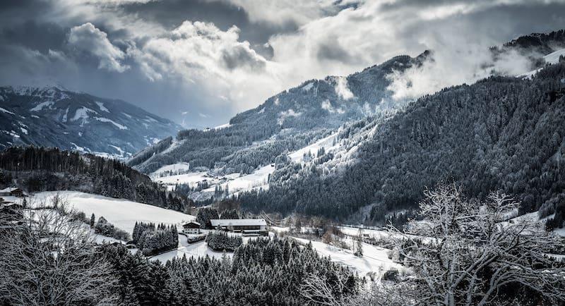 Montañas austríacas