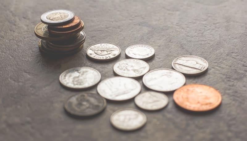 moendas de varios valores